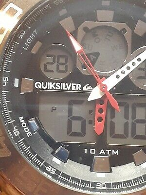 £29.25 • Buy Quiksilver Mens WatchThe Fiftys 50  AL21E4 Running Condition
