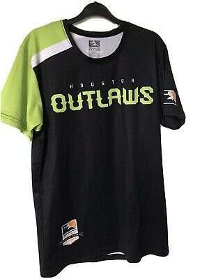 AU24.44 • Buy Houston Outlaws Overwatch League Home Jersey - Large - Good Condition