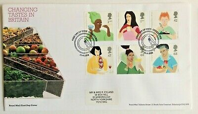 £1.60 • Buy GB FDC 2005 - CHANGING TASTES IN BRITAIN - Cookstown Postmark + Insert