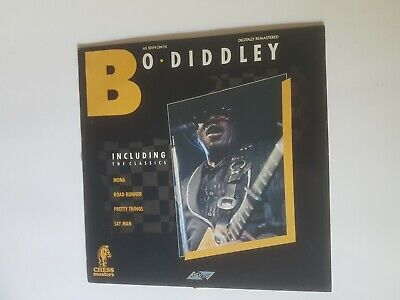 £6.75 • Buy BO DIDDLEY 'SELF TITLED' 12  Stylus Chess Masters 1988 Remastered A2/B1 EX/VG+