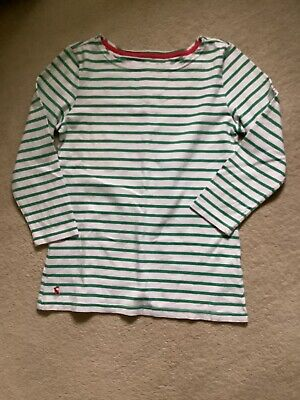 £2.50 • Buy Striped Cotton Top From Joules Size 8