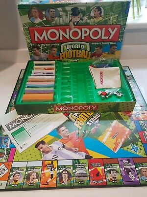 £14 • Buy Monopoly  WORLD FOOTBALL STARS . Hasbro 2014. EXCELLENT CONDITION