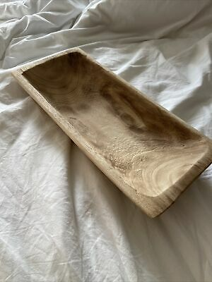 £10 • Buy Wooden Carved Decorative Dish Homeware