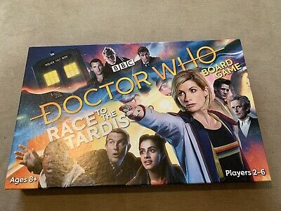 £8 • Buy BBC Doctor Who Race To The Tardis Family Board Game For Ages 8+