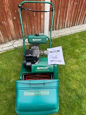 £50 • Buy Atco Qualcast, Classic 35s, Petrol Suffolk Punch Lawnmower, Self Propelled