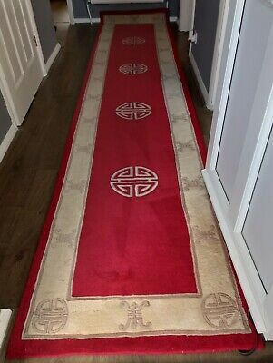 £224.99 • Buy Very Large 100% Wool Frith Premier Superwashed Chinese Rug Design Runner
