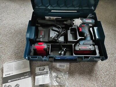 £180 • Buy Bosch Professional Robust Series Combi Drill NEW!!!2x Procore Batteries  Gsb18v