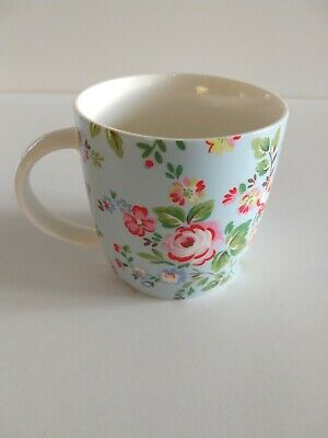 £12.50 • Buy Cath Kidston Fine Bone China Mug With Blue Rose Print By Queens
