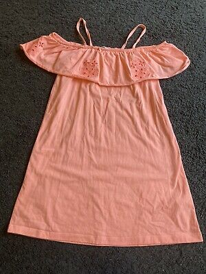 £1 • Buy Girls Gorgeous Coral Dress From Matalan Age 11 Years