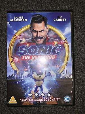 £4.99 • Buy Sonic The Hedgehog DVD Live Action/animated Movie Film (Jim Carrey 2020)