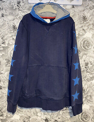 £8 • Buy Boys Age 13-14 Years - Boden Hooded Sweater