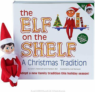 AU50 • Buy Elf On The Shelf A Christmas Tradition Doll And Book In Box - Like New