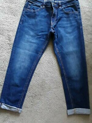 £2 • Buy M & S Blue Cropped Jeans Size 10