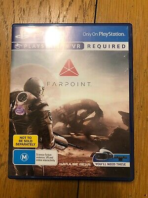 AU21 • Buy Farpoint VR - Playstation 4 PS4 Game