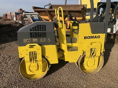 £5995 • Buy Bomag BW90 AD-2  Drum  Vibrating Roller Low Hours We Stock Hamm Jcb