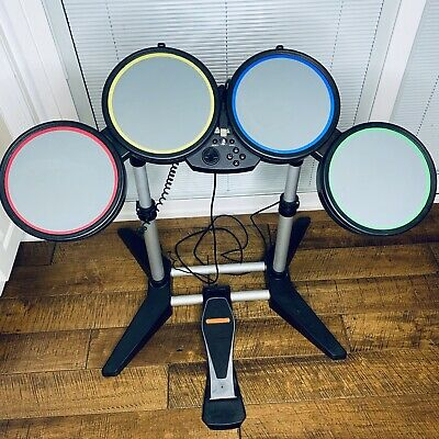 £50.20 • Buy ROCK BAND Harmonix Wired Drum Set Playstation 3 PS3 PS4 Model 822148 No Sticks
