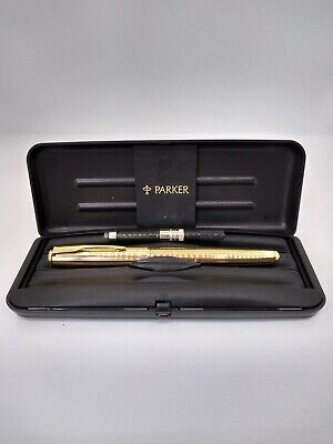 £95 • Buy An Early Parker Sonnet Fountain Pen With Original Box, Converter