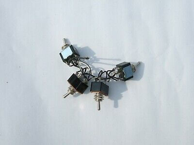 £4 • Buy Model Railway 4 X DPDT Switches For Slow-action Point Motors