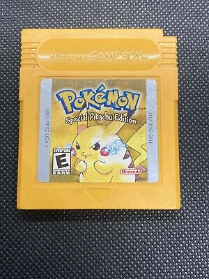 $31 • Buy Pokemon Yellow Version: Special Pikachu Edition (Game Boy, 1999) AuthenticSaves