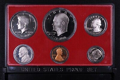 AU25 • Buy United States USA 1976-S 6-Coin Proof Set