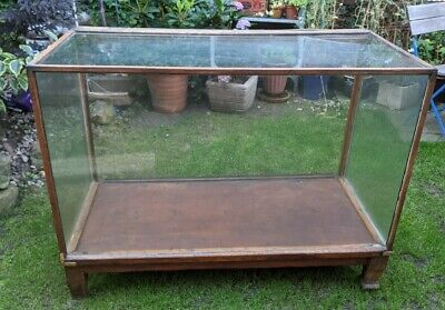 £85 • Buy Antique Glass Shop Counter - Glazed Shop Retail Display Cabinet