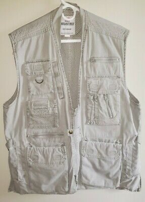 £24.13 • Buy ROTHCO Outback Outdoors Hunting Fishing Photo Vest  Zip Multi Pocket Mens Sz M.