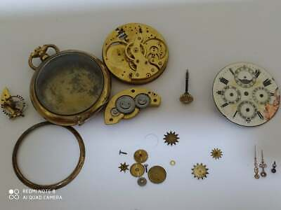 £130.81 • Buy Swiss Moon Phase Calendar Face Pocket Watch Parts