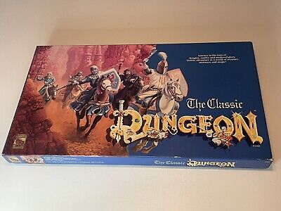 AU88.95 • Buy The Classic Dungeon Board Game 1992 Version TSR Dungeons And Dragons COMPLETE
