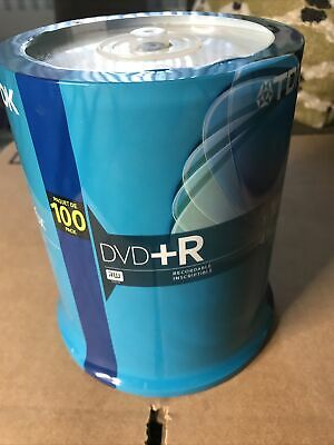 £16.75 • Buy New TDK DVD+R Recordable 1-16X 4.7Gb 100 Pack Spindle Factory Sealed