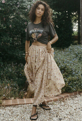 AU219 • Buy Spell Sundown Kerchief Skirt, Sold Out Style New With Tags, Size Small