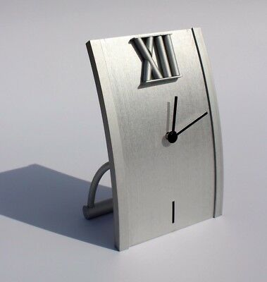 £0.90 • Buy Modern Aluminium Table Desk Clock Home Office Decoration Gift Idea With Battery