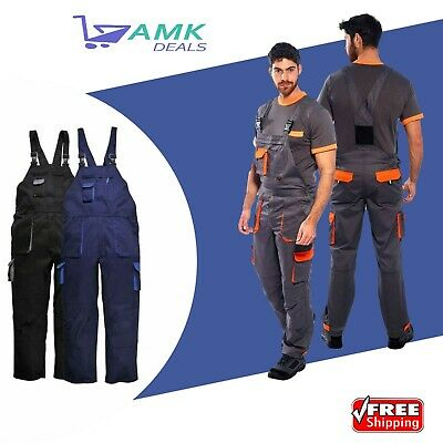 £20.75 • Buy Portwest TX12 Texo Contrast Painters Work Wear Bib And Brace Overall Coverall UK