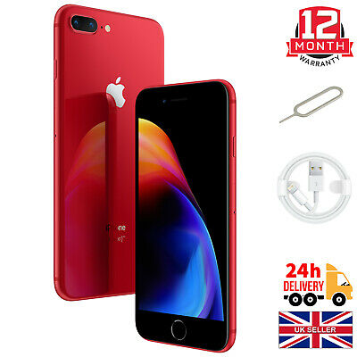 £239.99 • Buy Apple IPhone 8 Plus (PRODUCT)RED - 256GB - (Unlocked) A1897 (GSM) Excellent NTID