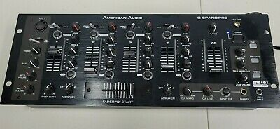 £25.59 • Buy American Audio Q-spand Pro 4 Channel Dj Mixer Black...really Cool!!!!!!!!!!!!!!!
