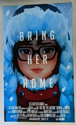 AU41.33 • Buy Blizzard Entertainment Employee Only Exclusive - Overwatch Mei Poster