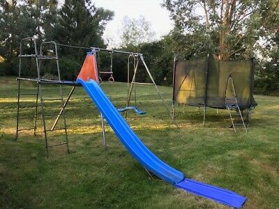 £10.90 • Buy TP Climbing Frame With Swings & Trampoline