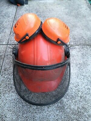 £4.21 • Buy Stihl Chainsaw Helmet - Works Perfectly -  Great Condition