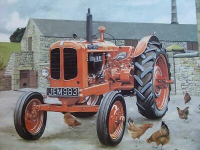 £6 • Buy 1948 Nuffield M4 Universal Classic Vintage Tractor Colour Print Rare & Detailed