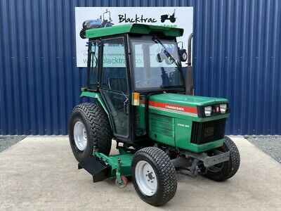 £8995 • Buy Ransomes Ct333 4wd 33hp Hst Hydrostatic Compact Small Tractor & Mid Mower Deck