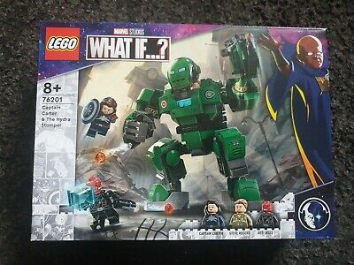 £25 • Buy LEGO Marvel What If? Captain Carter & The Hydra Stomper 76201 Set NEW/SEALED