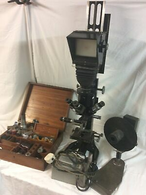 £295 • Buy BECK LONDON MICROSCOPE MODEL 50 (untested For Spares Or Repair)