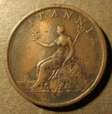 £4.99 • Buy George 111 Half Penny Dated 1807 Excellent For Its Age Some Pitting