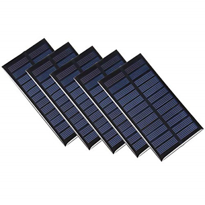 £23.16 • Buy Sourcing Map 5Pcs 1W 6V Small Solar Panel Module DIY Polysilicon For Toys