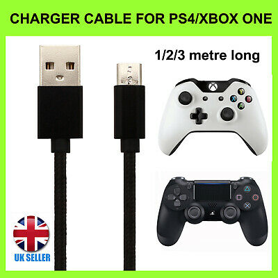 AU1.87 • Buy Charger Cable For PS4 PlayStation 4 & XBOX ONE Controller Charging Lead 1M 2M 3M