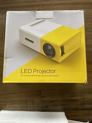 AU36.50 • Buy Portable LED Projector With HDMI & USB Excelvan