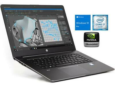 AU844.99 • Buy HP ZBook StudioG3 Core I7-6820 2.7G 32GB 512GB SSD W10P Quadro M1000M HDMI Touch
