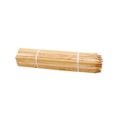 £25.20 • Buy 90cm X 22mm Untreated Square Support Wood Timber Tree Plant Stakes Posts X 25