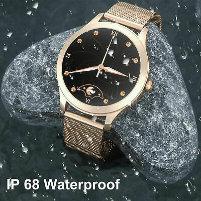 AU50.99 • Buy Waterproof Smart Watch Heart Rate Fitness Tracker For IPhone IOS Android Samsung