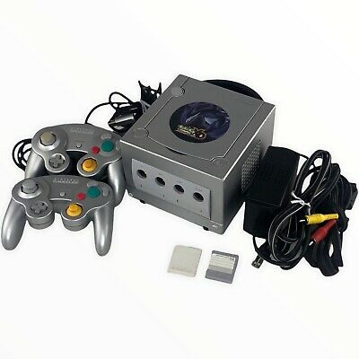 $149.97 • Buy Nintendo GameCube Pokemon XD Gale Of Darkness Console W/2 Controllers Mem Cards