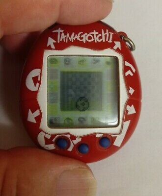 £18 • Buy Tamagotchi Connection Version 2 Red Printed Arrows ~ GWO ~ NEW BATTERY